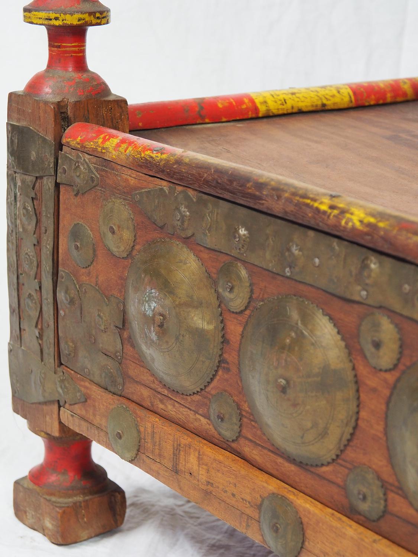 Antik  Teetisch   Mit Geheimfach aus  Afghanistan Nr-21/B