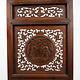Antik chinesische holz Fenster Gitter Jali Wanddekoration Wandschmuck Holzbild -21