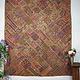 240x188  cm  Vintage Bohemian oriental  Patchwork wall hanging No:21/9