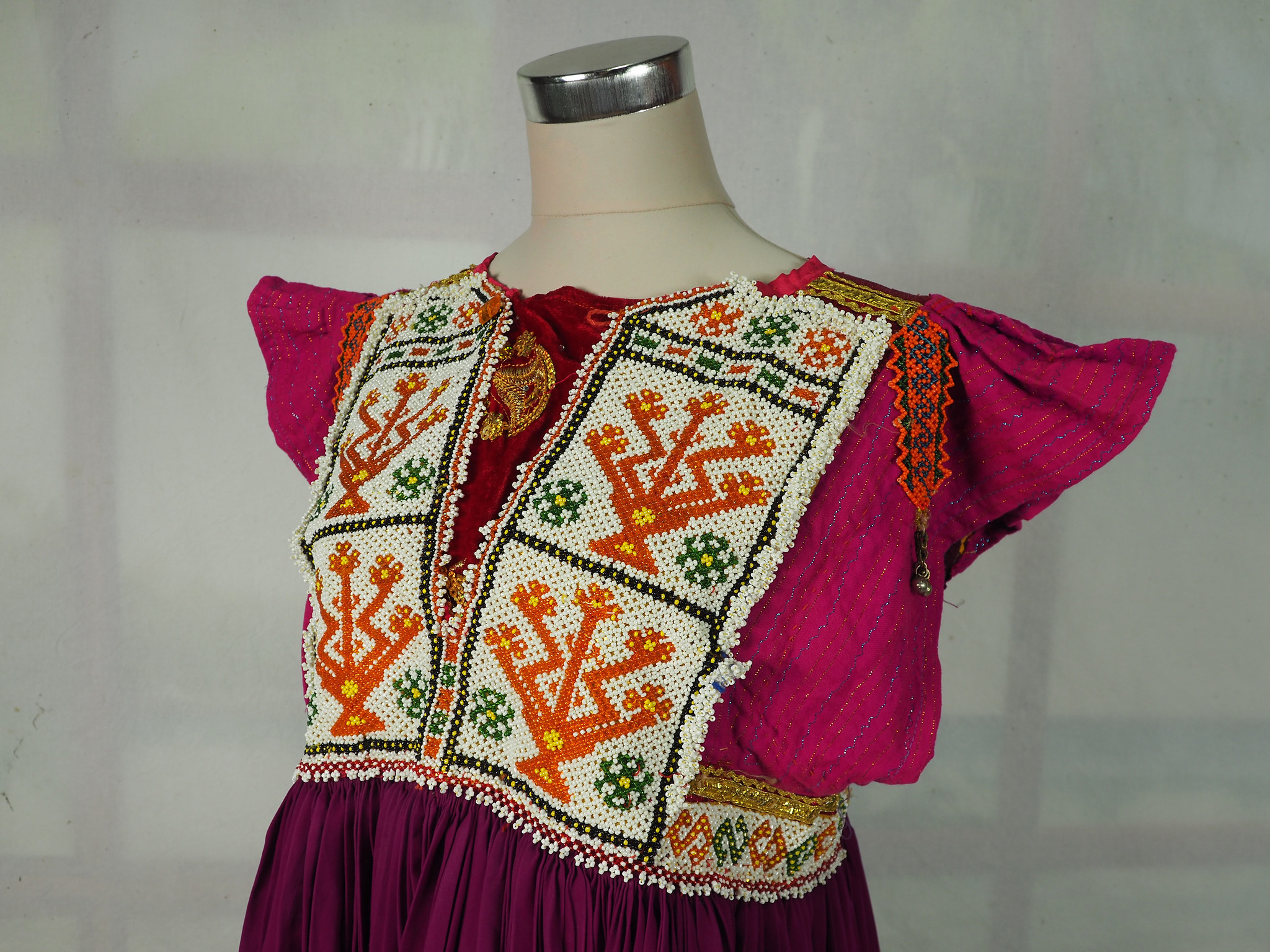 vintage hand embroidered nomadic Kuchi Ethnic dress from Afghanistan No-WL21-7