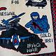 Afghanistan U.S.A 11 september 2001 Newyork world trade center afghan warrug No:10