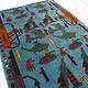 148x101 cm Afghan Kriegteppich Handgeknüpf Teppich Afghanistan AFG21G