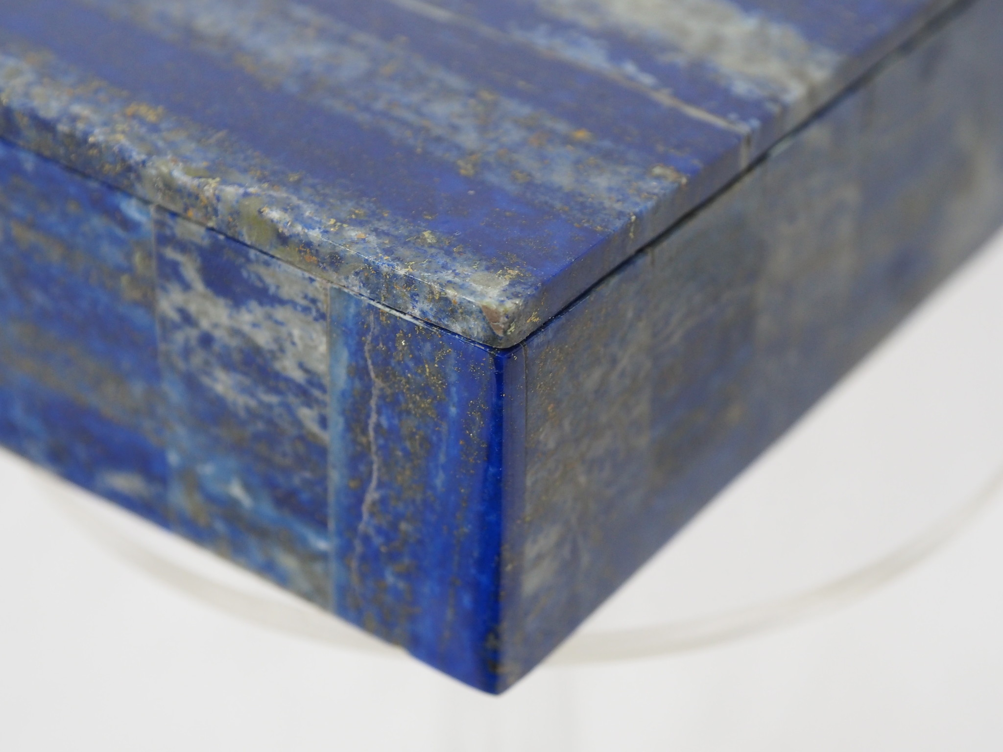 Extravagant Royal blau echt Lapis lazuli Schmuckkiste aus Afghanistan   Nr- 21/F