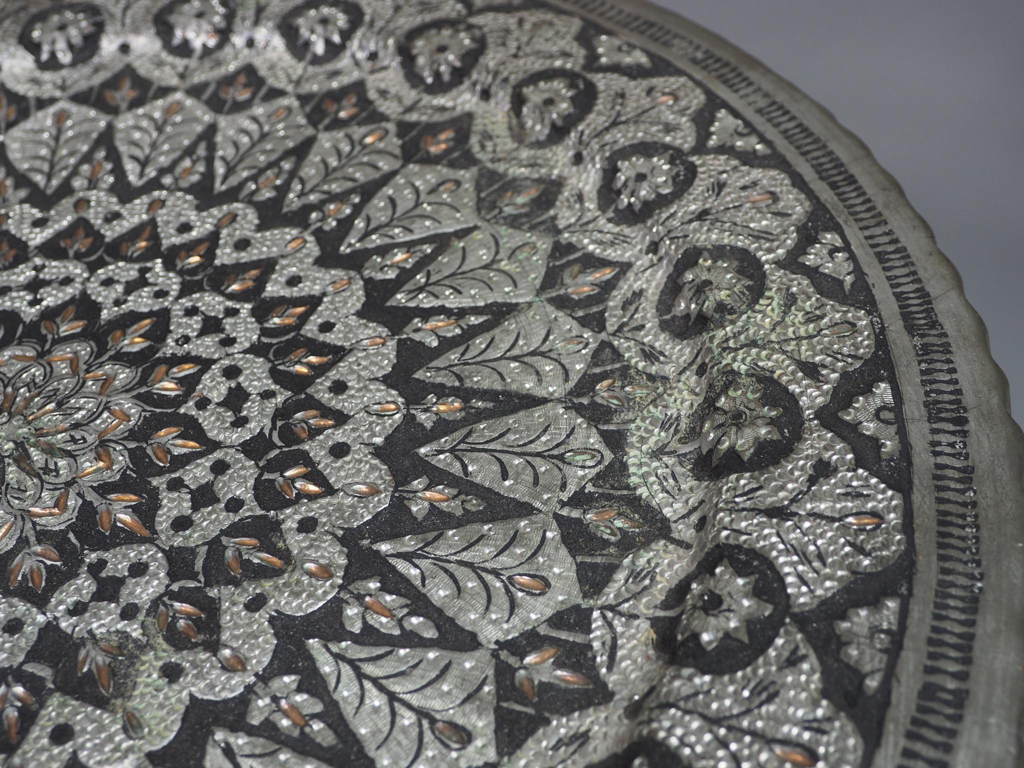 30 cm antique copper tray No: K36