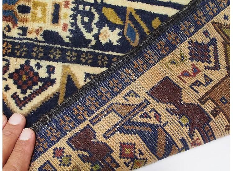 220x122 cm  original  Kriegsteppich aus Afghanistan – handgeknüpft alikhoja Nr:16