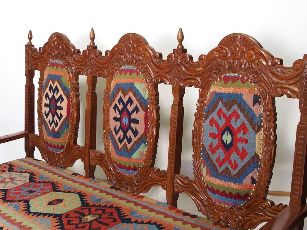 kelim 3sitzer Sessel