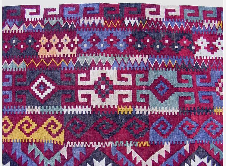 antik afghan Kelim 400x225 cm Nr:477