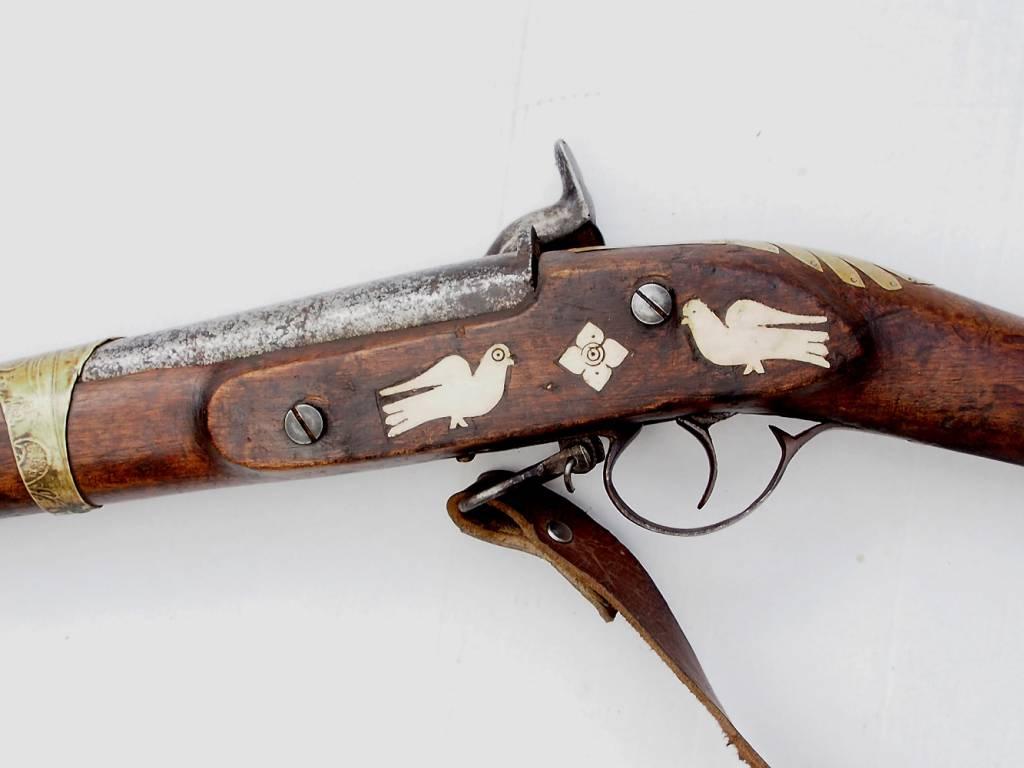 Afghan flintlock rifle  No: GW-1