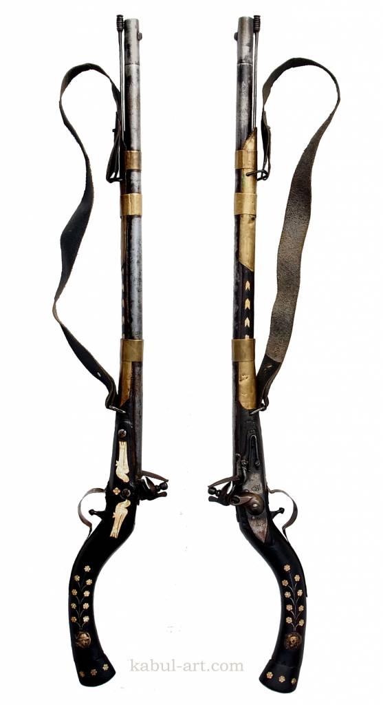 Afghan flintlock rifle  No: GW-4
