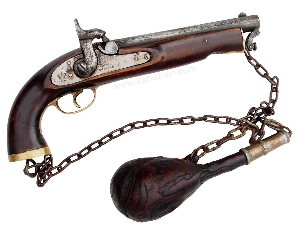 Steinschlosspistole Gewehr aus Afghanistan Nr-PS-2