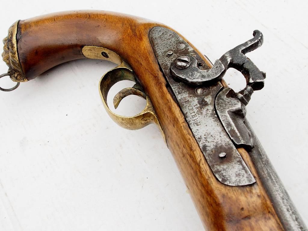 Steinschlosspistole Gewehr aus Afghanistan Nr-PS-3