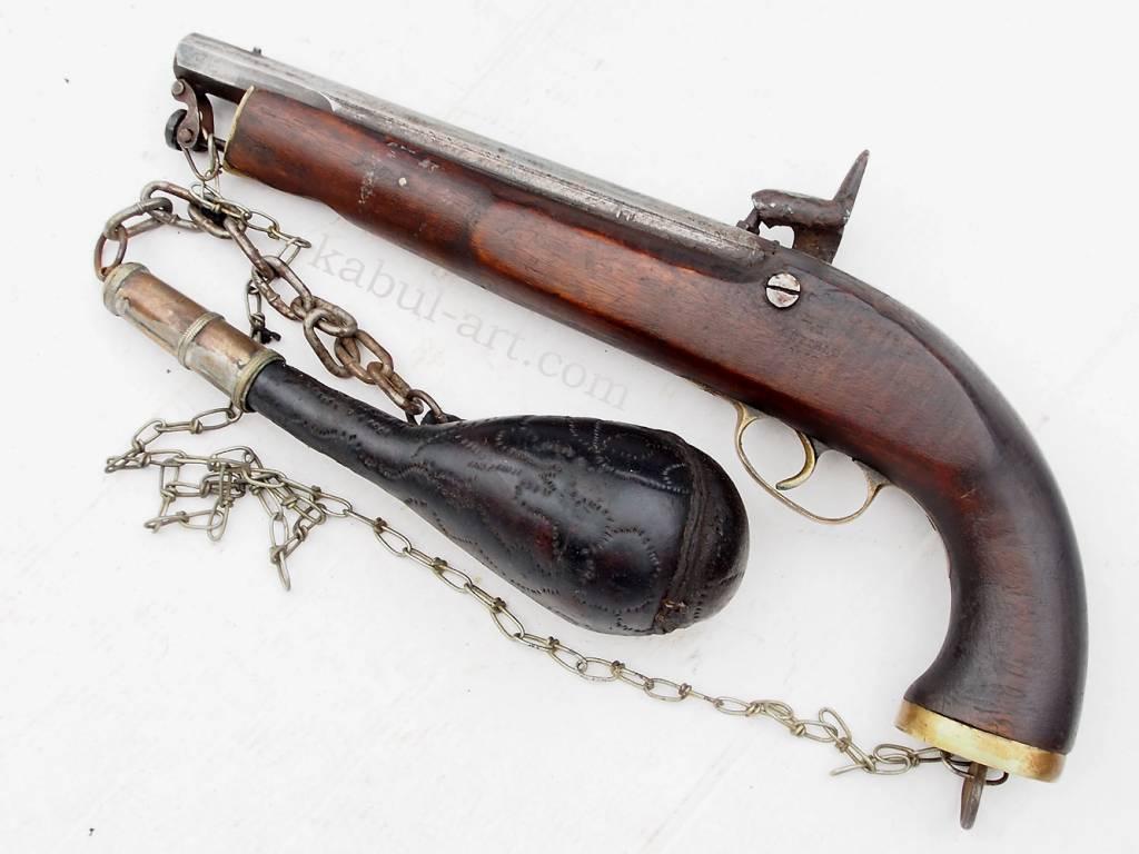 Steinschlosspistole Gewehr aus Afghanistan Nr-PS-4
