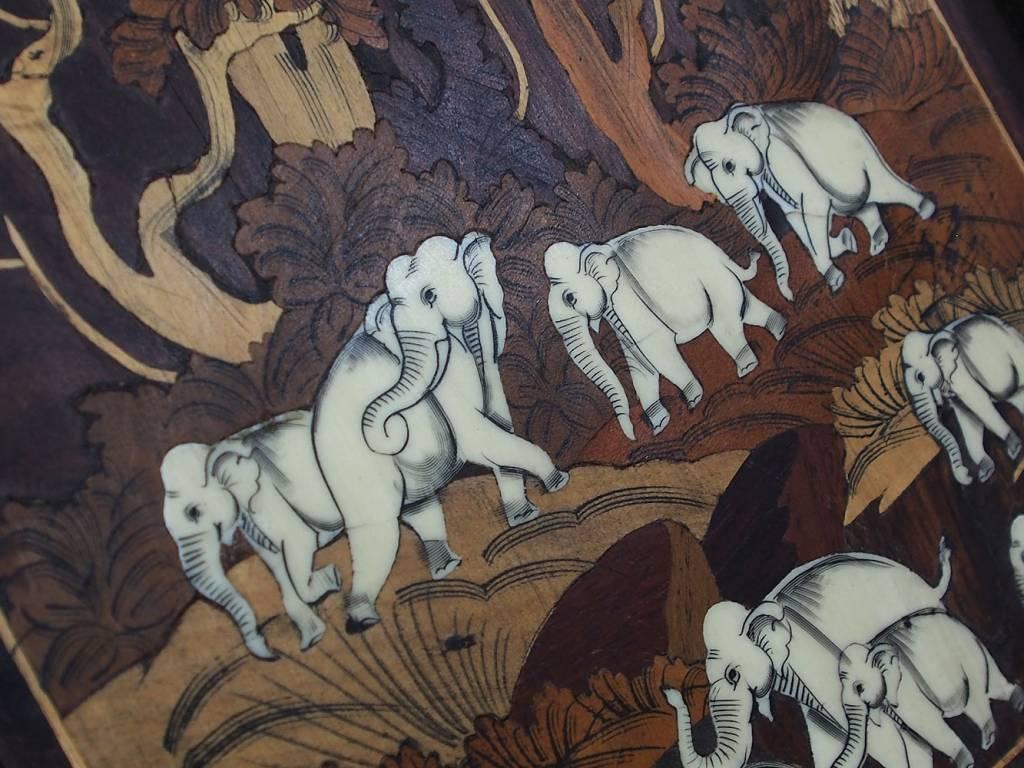 antik indien Anglo Paravent