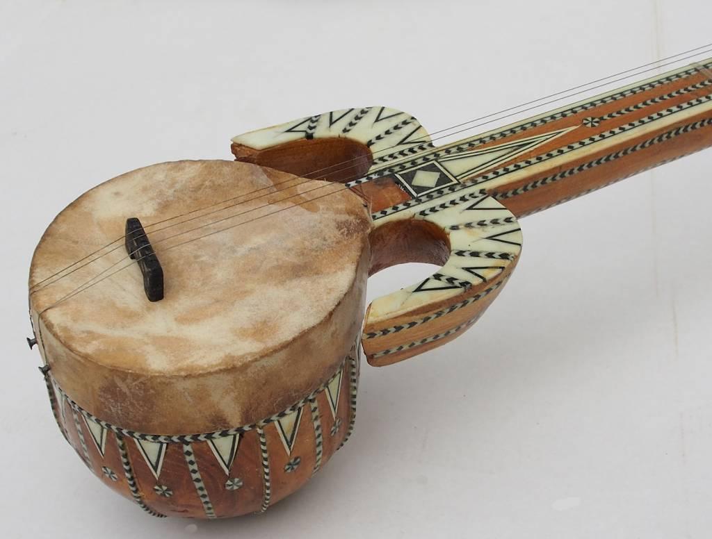 traditional folk musical instrument  from  Xinjiang Uyghur china  rawap No-A