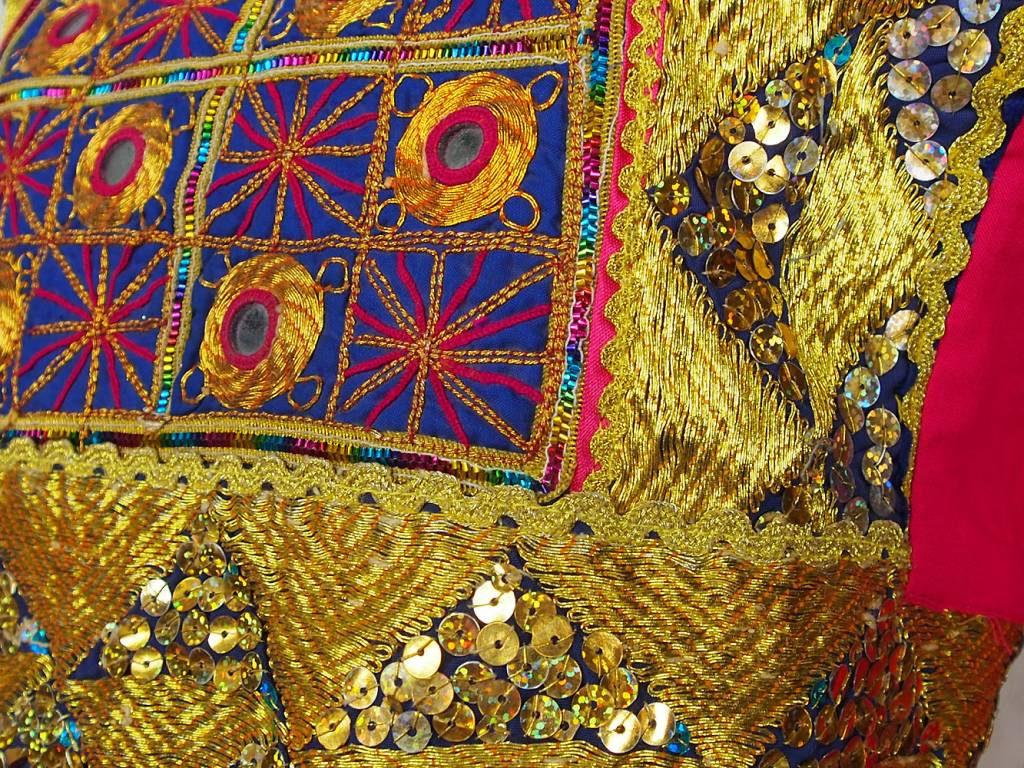 Afghani Nomaden Kleid  Tracht Pink/6