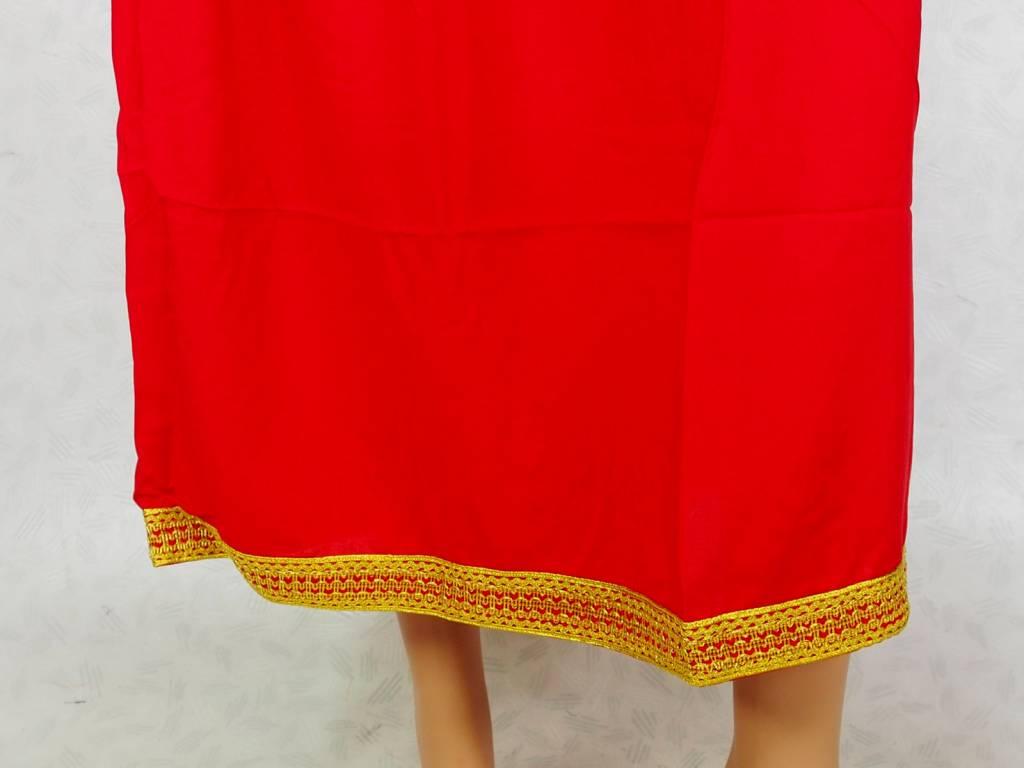 Afghani Nomaden Kleid  Tracht Rot/16