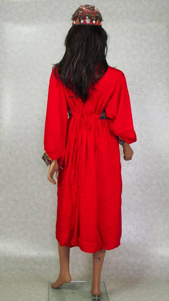 Afghani Nomaden Kleid  Tracht Rot/17
