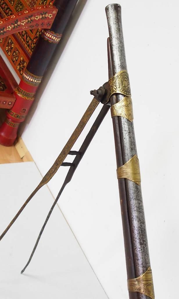 Afghan flintlock rifle  No: GW-11