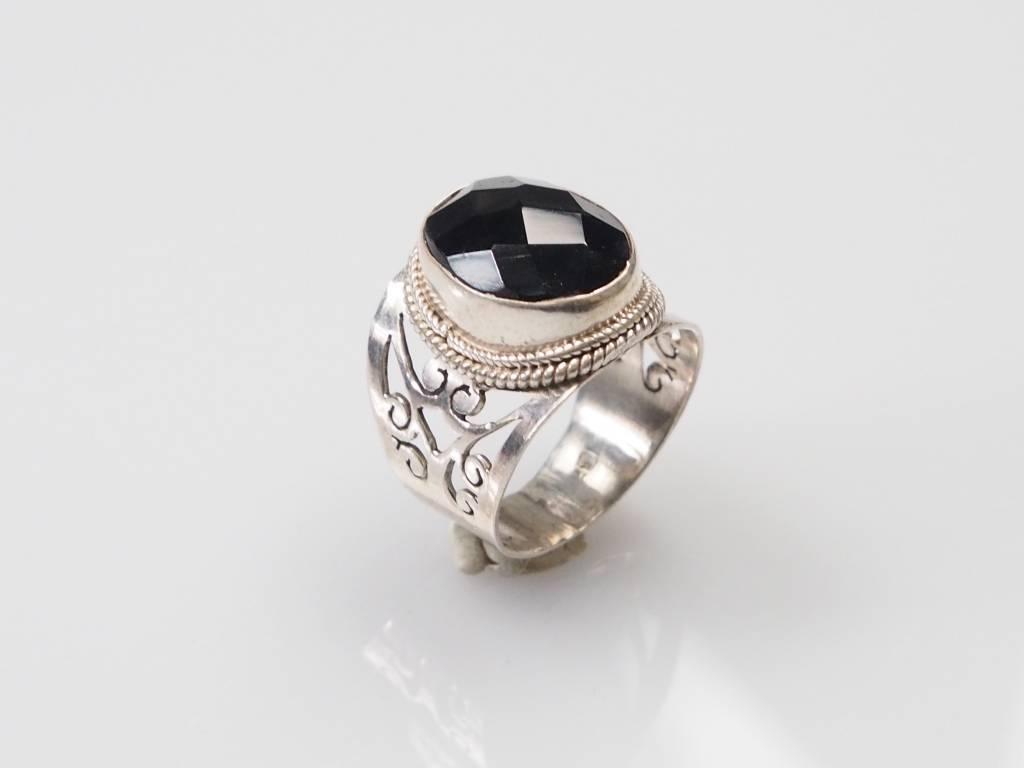 hematite ring Nr:89