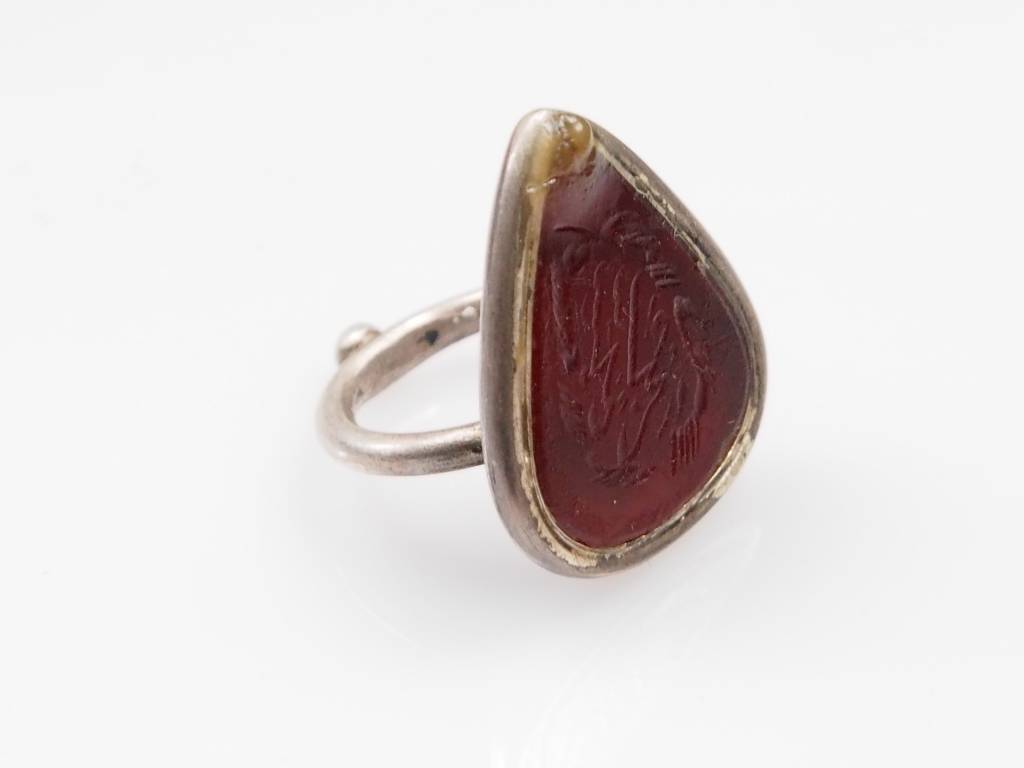 Karneol Amulett ring Nr:233