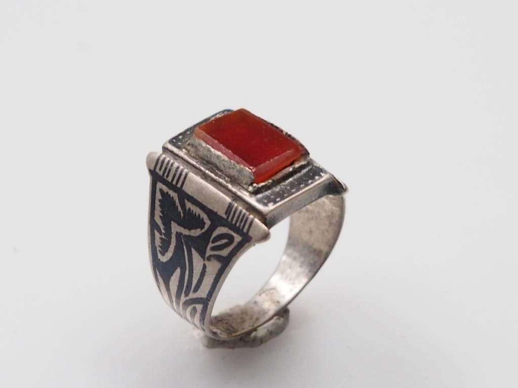 Karneol  ring Nr:235