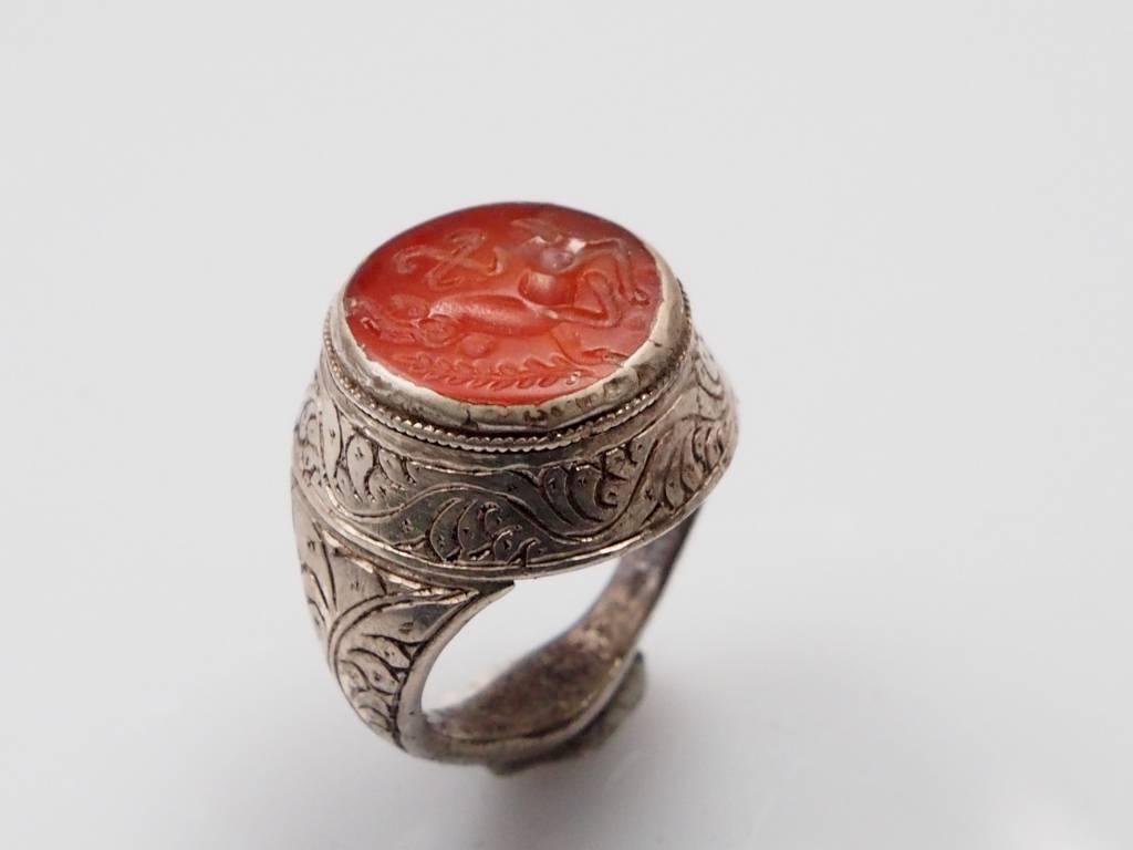 Karneol Siegel ring Nr:237
