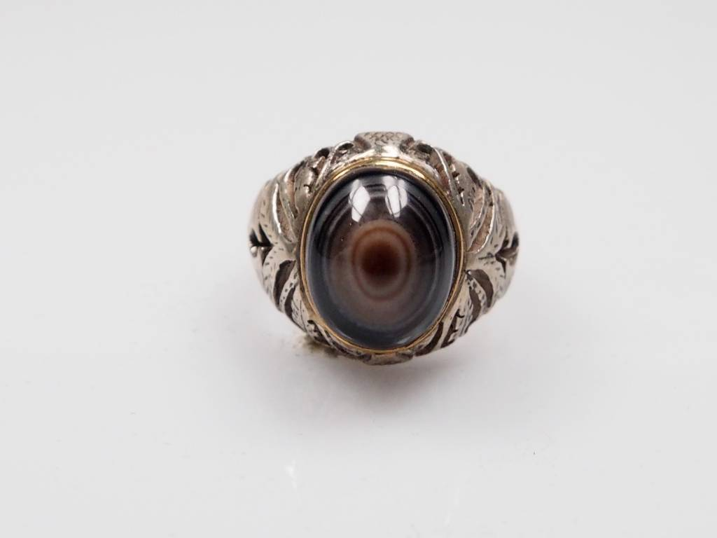 Augenachat ring Nr:241