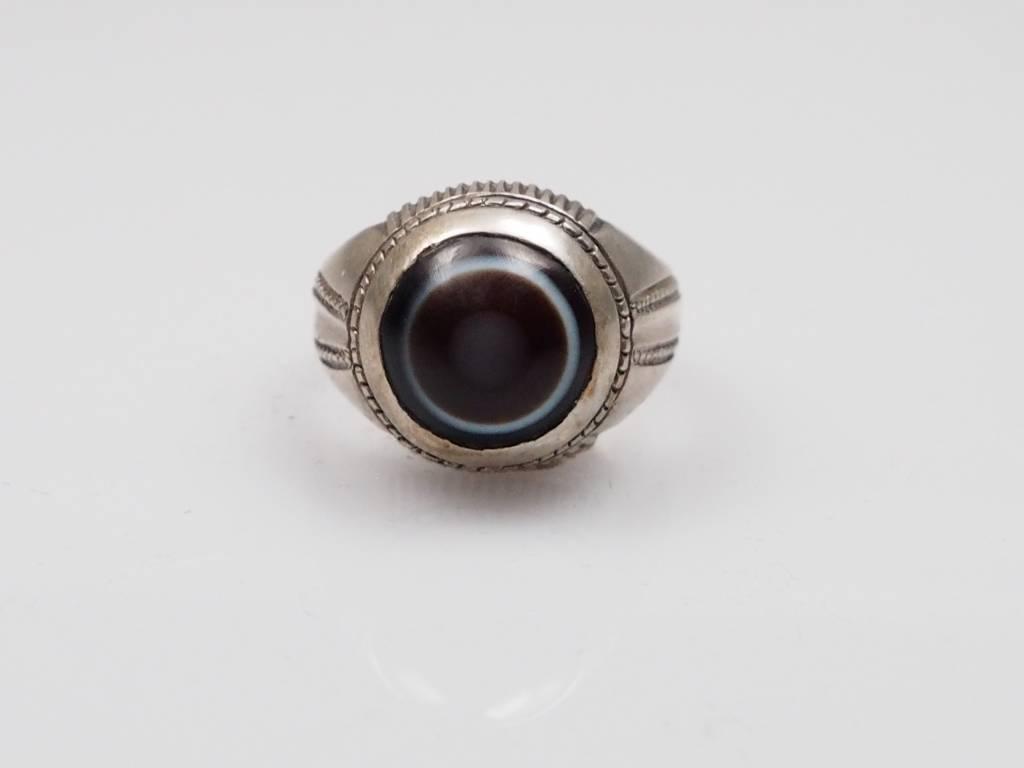 Augenachat ring Nr:242
