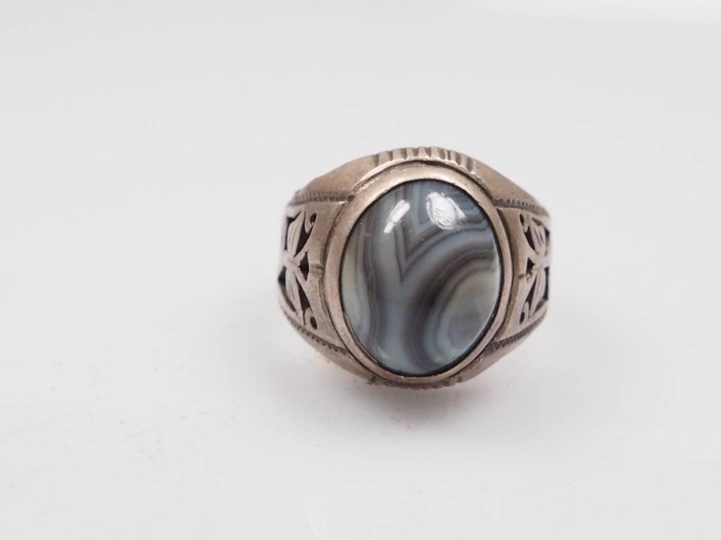 Augenachat ring Nr:243
