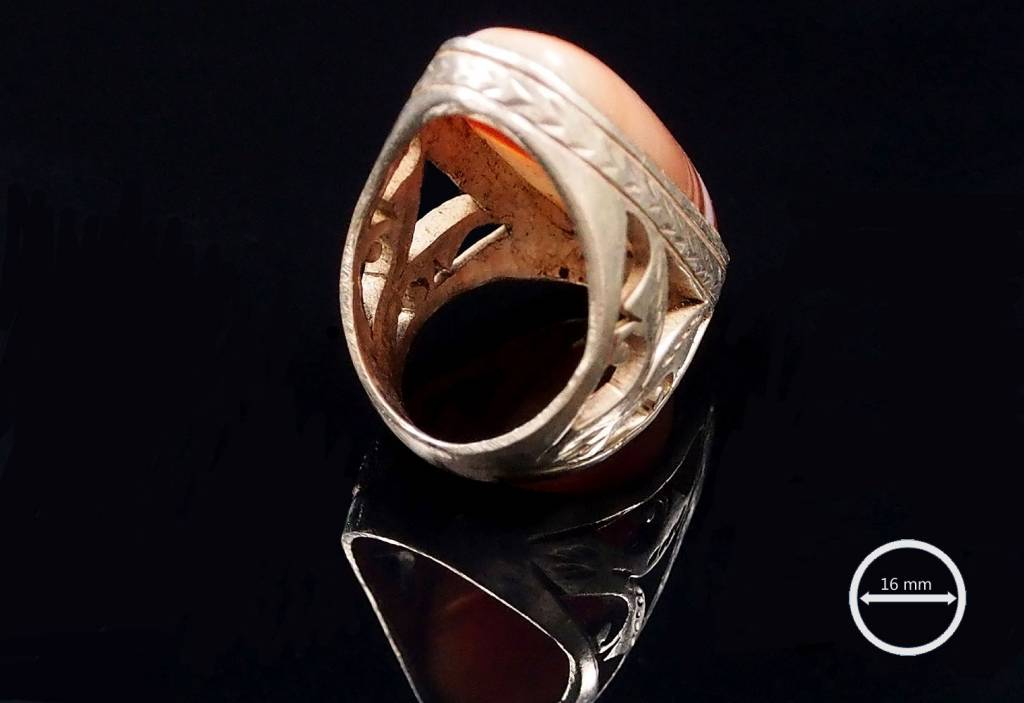 antik  Amulett ring Nr:53
