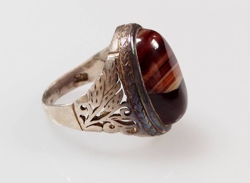 antik  Karneol ring Nr:56