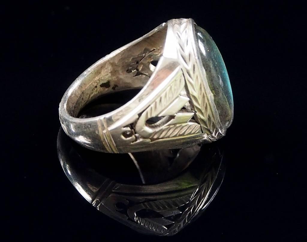 antik   labradorit ring Nr:58