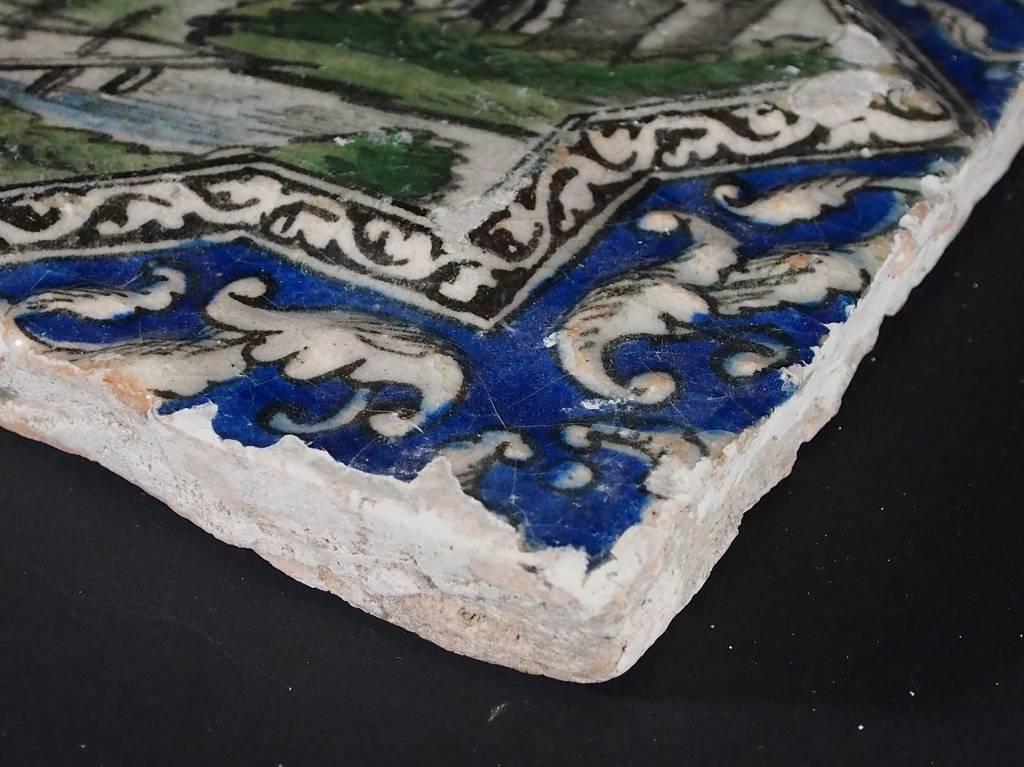 Antik islamische  Fliese Nr:B