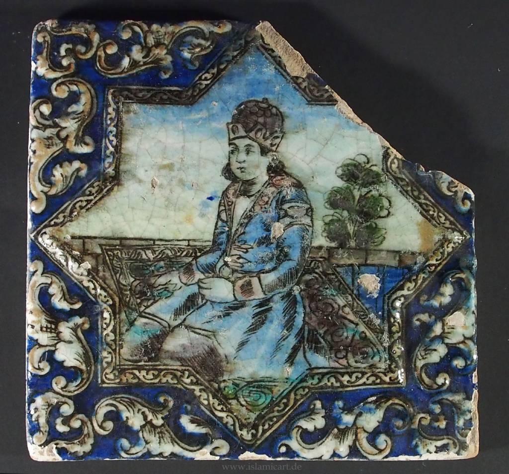 Antik islamische  Fliese Nr:E