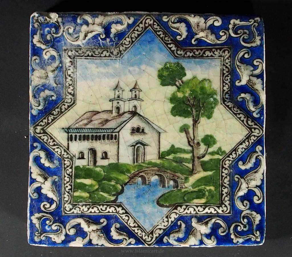 Antik islamische  Fliese Nr:F