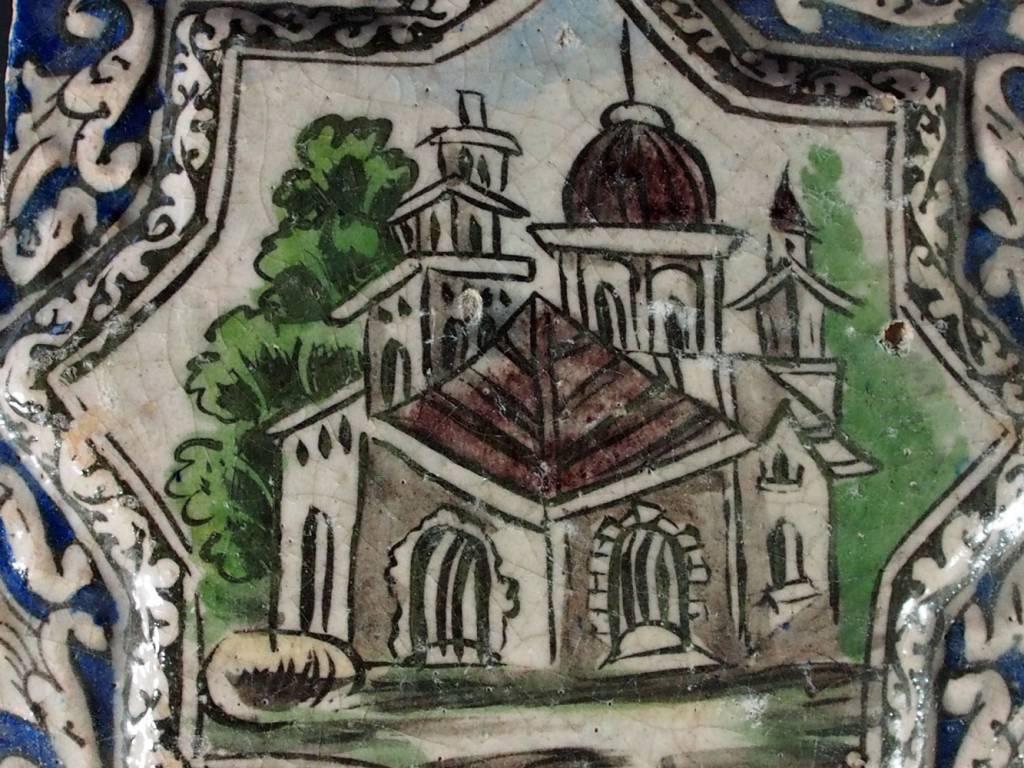 Antik islamische Persien Fliese Nr:M