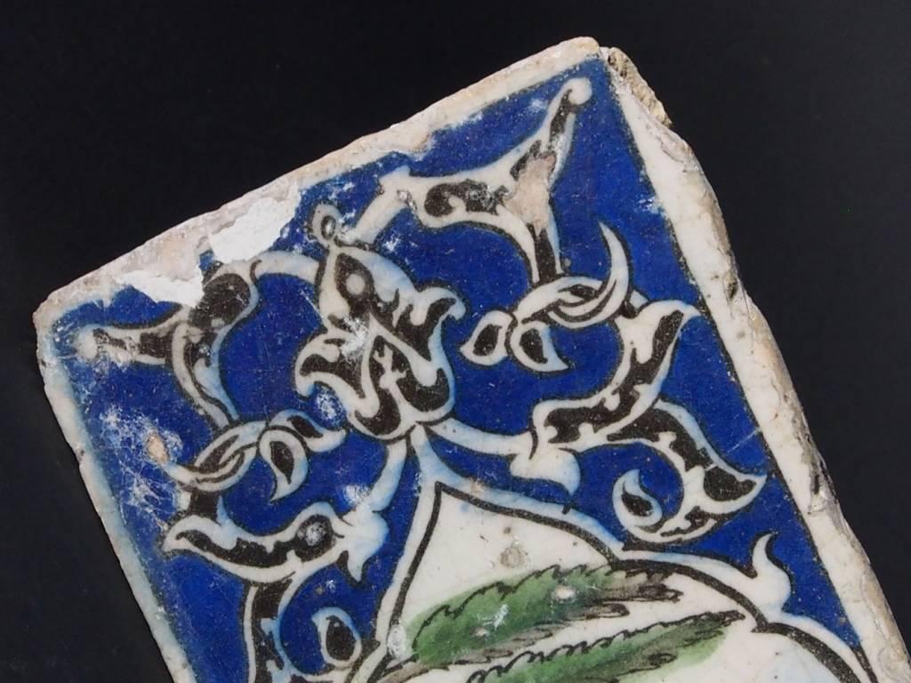 Antik islamische  Fliese Nr:N