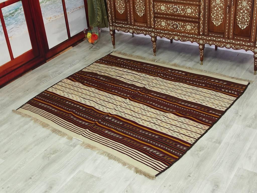 174x154 cm afghan tatarenkelim Nr.4