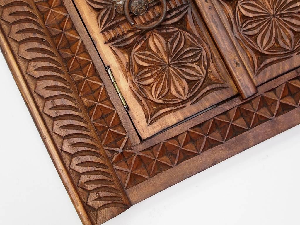 Holz Fenster Nuristan Nr:16/D