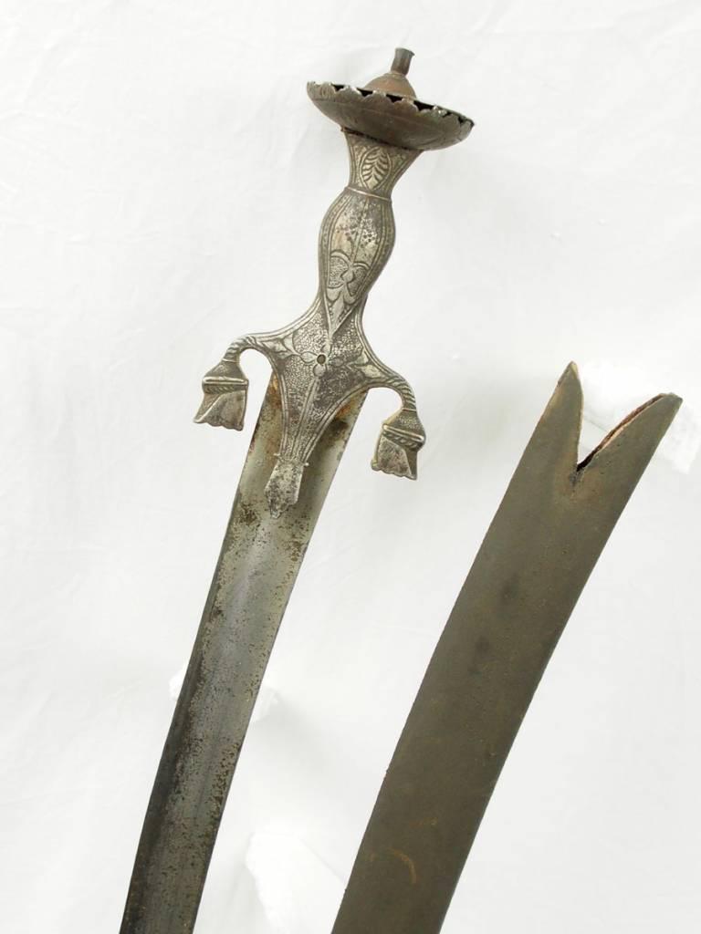 Afghanistan Shamshir An exceptional Sabre , A rare status afghan sword  Islamic  sword Dagger  No: 16/3