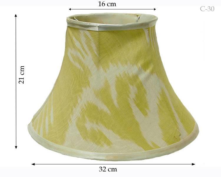 Ikat Lampenschirm Nr:C & K
