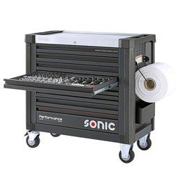 Sonic Performance gevulde gereedschapswagen S12 432-dlg. Project Performance 743248