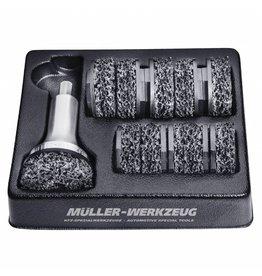 Müeller Werkzeug Wielnaafslijper type 2 aluminium