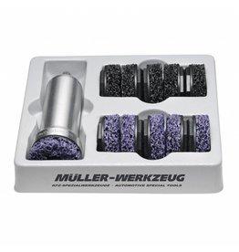 Müeller Werkzeug Truck wielnaafslijper aluminium