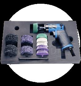 Müeller Werkzeug Reiniging set met haakse slijper