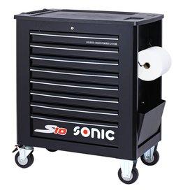 Sonic Gereedschapwagen leeg S10 8 laden zwart  (RAL9004)
