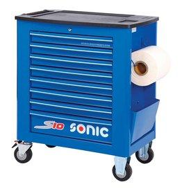 Sonic Gereedschapwagen leeg S10 8 laden blauw  (RAL5005)