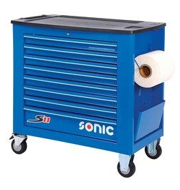 Sonic Gereedschapwagen leeg S11 8 laden blauw