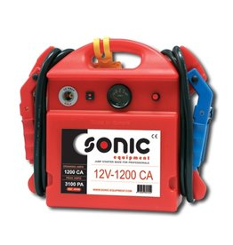 Sonic Startbooster draagbaar 12V/1200CA