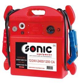 Sonic Startbooster draagbaar 12/24V 2400-1200CA